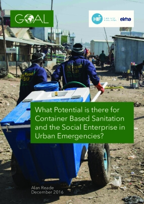 What Potential is There for Container Based Sanitation and the Social Enterprise in Urban Emergencies?