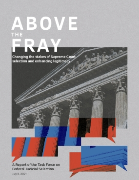 Above the Fray: Changing the stakes of Supreme Court selection and enhancing legitimacy