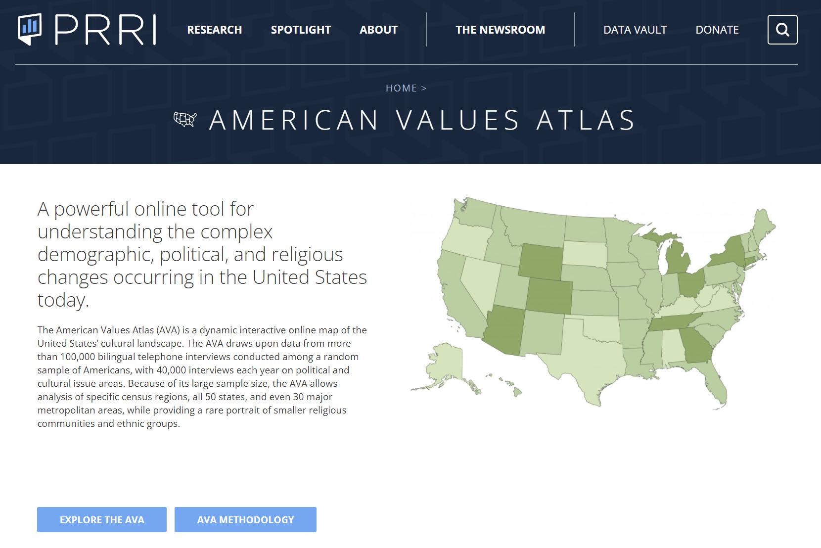 American Values Atlas