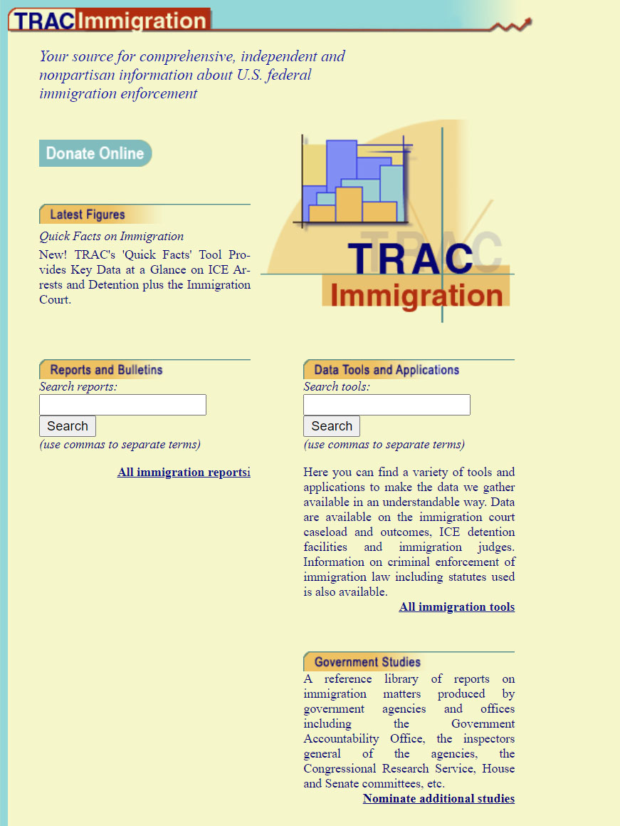 TRAC Immigration